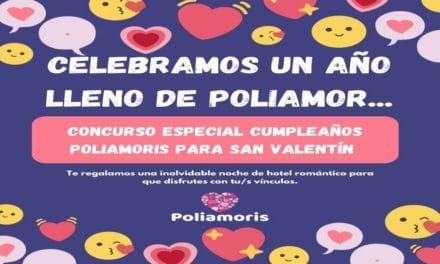 Sorteo San Valentín y Un Año Lleno de Poliamor en  Poliamoris.
